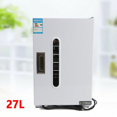 27l Dental Medical Surgical Instruments Uv Sterilizer Disinfection Cabinet Tray