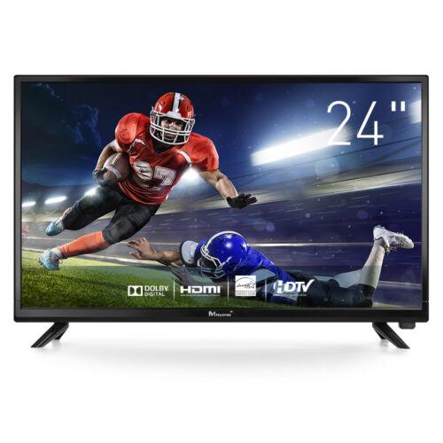 Myonaz LED HD TV 24 inch 1080p Flat Screen TV Widescreen 3X
