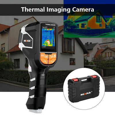 Thermal Imaging Camera Infrared Thermometer 8mb Handheld Temperature Visible Tft