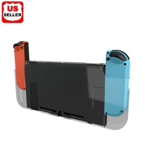 For Nintendo Switch Anti-Scratch 3-Part Design Protective Clear Hard Case Cover Bags, Skins & Travel Cases