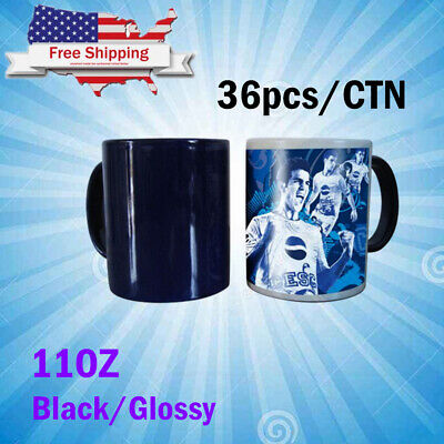 36pcs Blank Sublimation Color Changing Mugs Magic Cup Full Color Changing Mugs