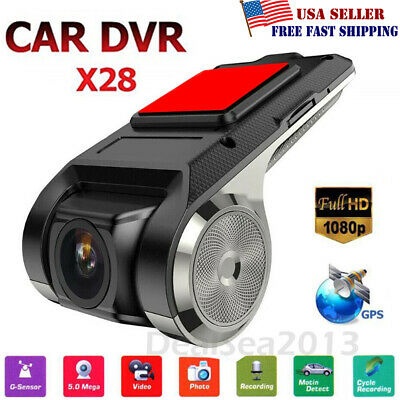 Anytek X28 FHD 1080P 150° Dash Cam Car DVR Camera Recorder WiFi ADAS G-sensor US