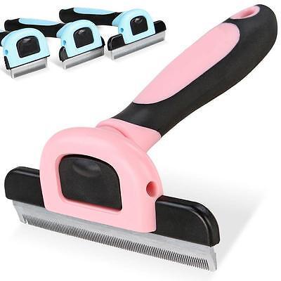 Pet Grooming Brush Comb Shedding Rake Trimming Tool Dog Cat Hair Fur Removal USA