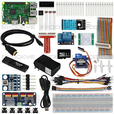 Raspberry Pi 3 Model B Board Internet Of Things Iot  Full Starter Kit