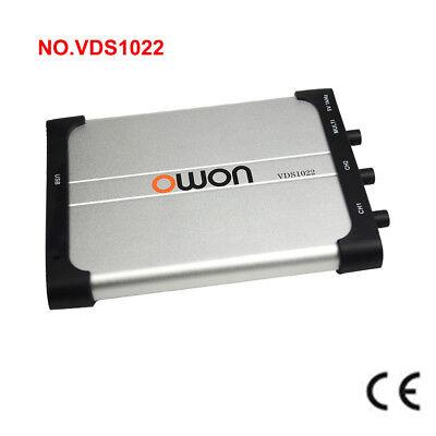 Brand OWON VDS1022 Oscilloscope USB PC Probe Dual Channel 100MSa SCPI Isolation