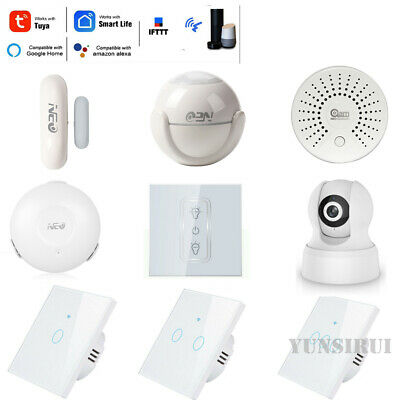 TUYA Smart Life APP WIFI Home Security Alarm System (Glass Camera App)
