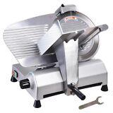 """12"""" Blade Commercial Meat Slicer Electric Deli Slicer Veggies Cutter Kitchen"""
