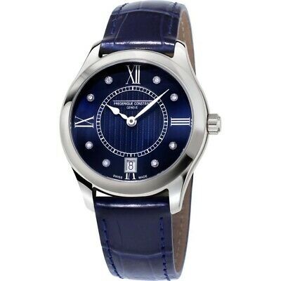 Frederique Constant Women's Quartz Diamond Accent 36mm Watch FC-220MND3B6