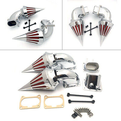 Newly MOTOR Chrome Spike Air Cleaner Intake Filter For Suzuki Boulevard M109 S
