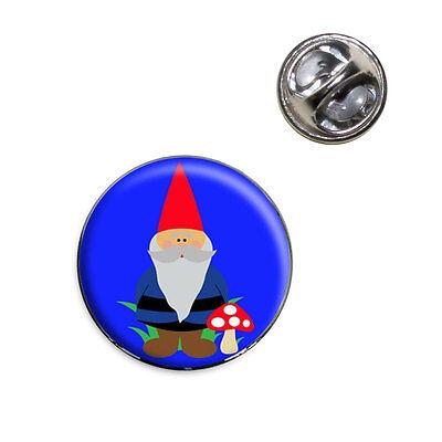 Garden Gnome Lapel Hat Tie Pin - Garden Gnome Hat