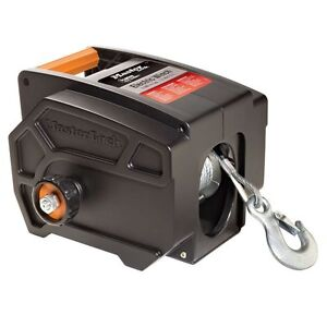 12V 6000 Pound Portable Electric Truck Trailer Marine Boat Winch Free Spooling