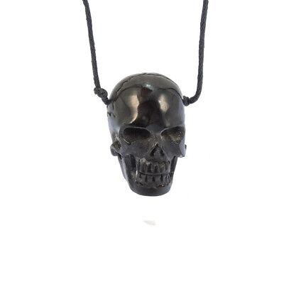 Bone Totenkopf Hipster Kette inkl Band Knochen Halskette Hals Kette Schmuck