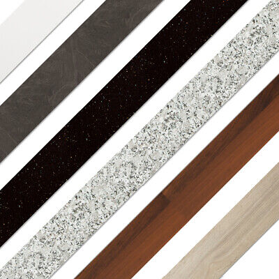 Laminate Kitchen Worktop Edging Strips For 28mm, 38mm, 40mm Worktops