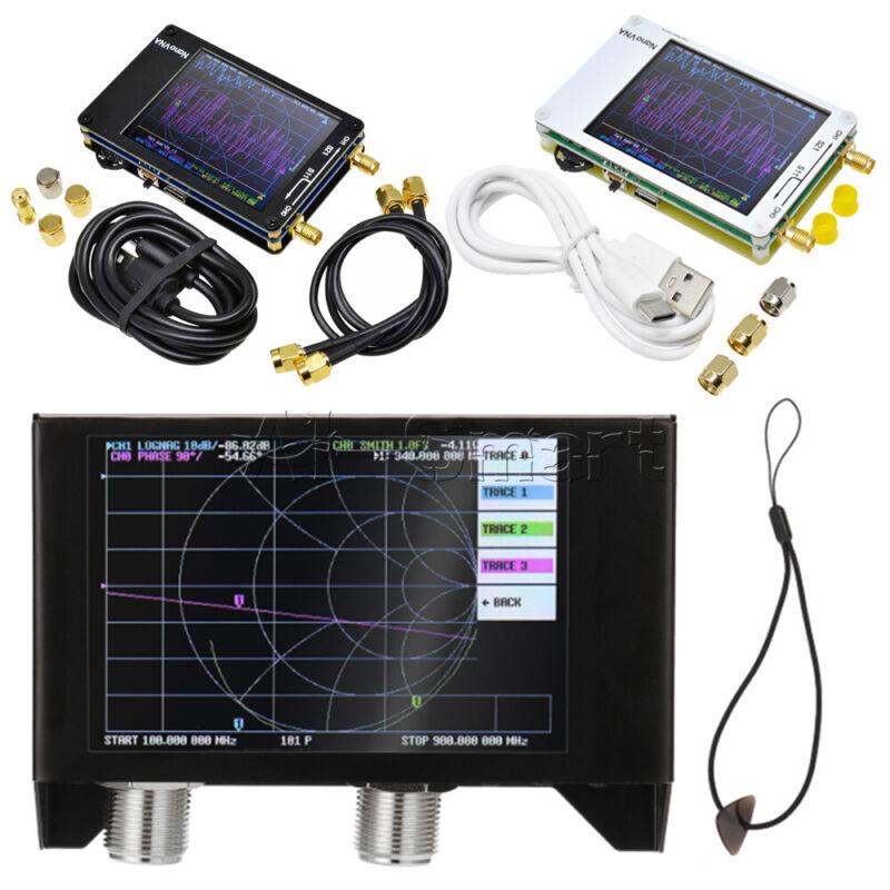 """2.8"""" 4"""" 3GHz SAA-2N NanoVNA V2 Network Antenna Analyzer Shortwave HF VHF UHF"""