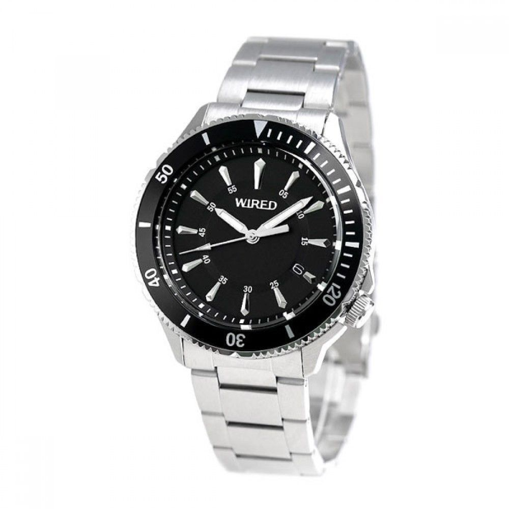 Seiko Wired Watch Diver Bar LOOK AGAJ401 Men\'s From Japan | eBay