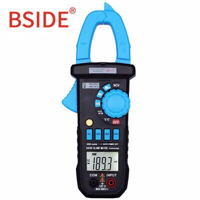 Bside Acm03plus 400a Digital Multimeter Acdc Current Clamp Meter Car Cap Hz Ohm