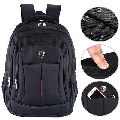 17 zoll Laptop Rucksack Wasserdicht Reise Schulrucksack Business Tasche Unisex