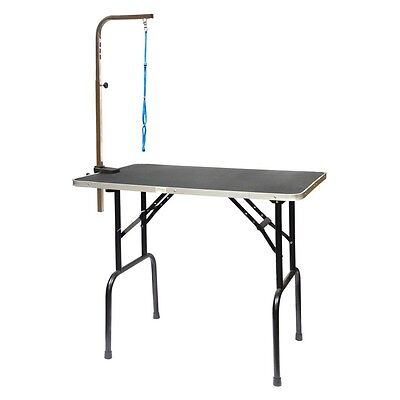 Pets Dog Grooming Trimming Table Stand Station Portable Professional Home NEW