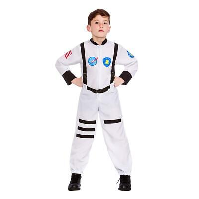 Child Moon Mission Astronaut Costume Spaceman Fancy Dress Outfit