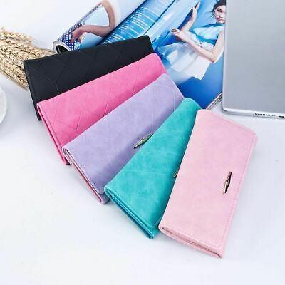 Woman Wallet Long Clutch Large Capacity Female Purse Lady Pink Trifold Wallets