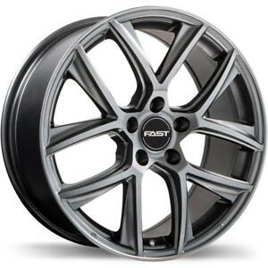 "17"" Wheel Set 2006+ Honda Civic Acura CSX ILX Roue Mag Rim Mags Fast Tactic Roues 17x7.5 +40mm"