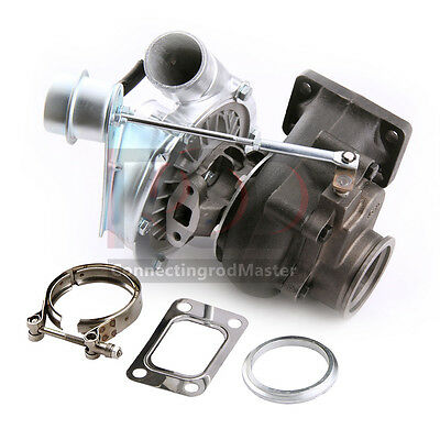 T3T4 TURBO CHARGER 350 HP 25 V BAND WITH INTERNAL WASTEGATE FOR DSM