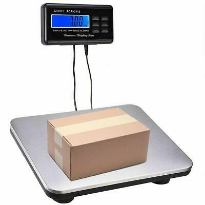 660lbs/0.1LB AC Digital Scale Floor Bench Scale Postal Platform Shipping Scales Bench Floor Scale