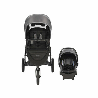 Evenflo Folio3 Stroll and Jog Travel System with LiteMax Car