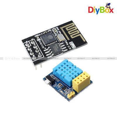 Esp8266 Dht11 Temperaturehumidity Wifi Wireless Transceiver Module Esp-0101s