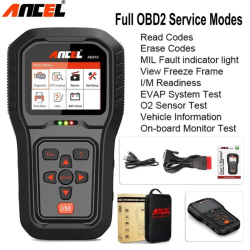 Details about Scanner OBD OBD2 Automative Fault Code Reader DTC Lookup  Diagnostic Scan Tool