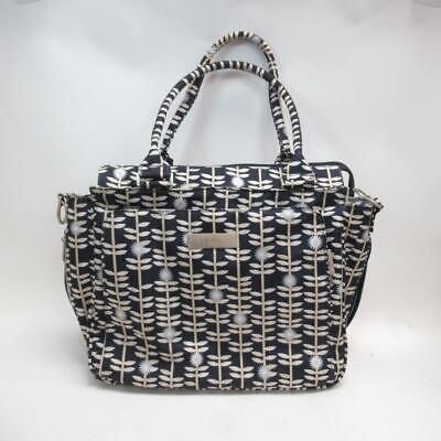 Ju-ju-be Be Classy- Dandy Lines Shoulder/Diaper/Changing Bag w/ Detachable Strap