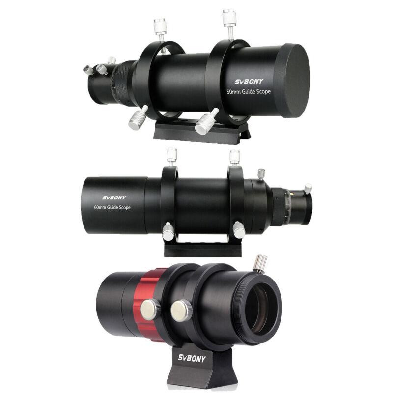 SVBONY 30/50/60mm Guide Scope Compact Deluxe Finderscope Versatile Telescope