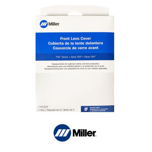 Genuine Miller 265304 T94 (i) Front Lens Cover (5 Pack)