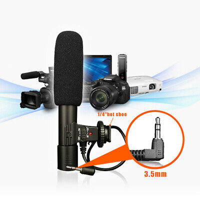 Sidande 3.5mm Audio Video Microphone Camera DV Video Camcord