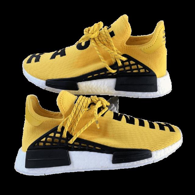 adidas Nmd Hu Yellow Human Race