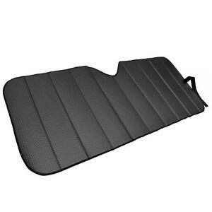 Reflective Black Foil Car Sun Shade Standard Reversible Folding Windshield Cover