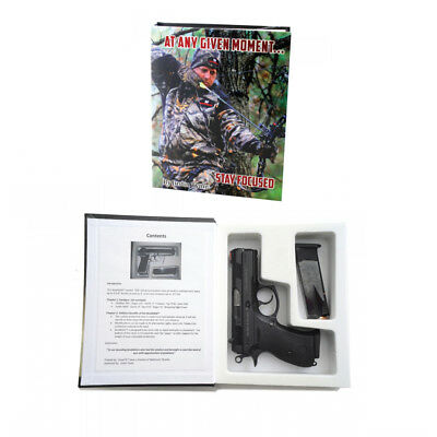BookKASE Hand Gun Hider Disguised Book Safe Compartment Size SM Any Given Moment