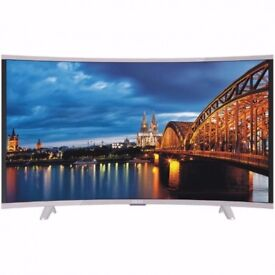 65 INCH Akai CTV654 65 inch UHD TS Curved FREEVIEW HD LED TV 1 YEAR WARRANTY