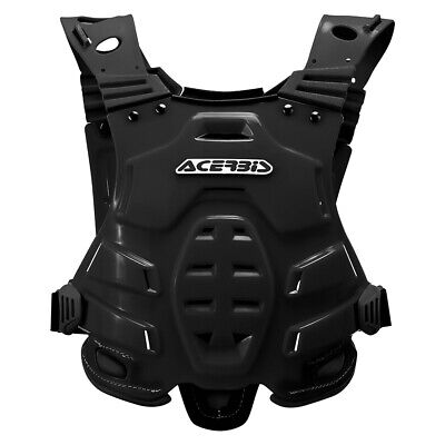 Acerbis Black Body Armour Chest Protection Motocross Enduro Roost Deflector KTM