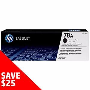 Buy Direct from HP and SAVE! - Original HP Toner 78A