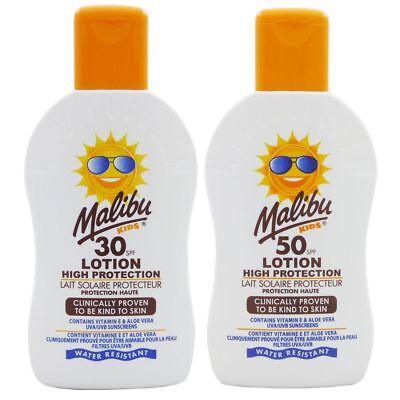 Malibu Kids Sonnenlotion für Kinder Sonnenschutz 200 ml NEU mit LSF - freie