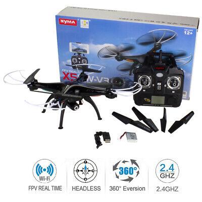 Syma X5SW-V3 Wifi FPV 360° Flip Explorers HD Camera RC Quadcopter Drone Kid Gift