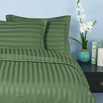 Best, Softest, Coziest STRIPE Duvet Cover Ever 1500 Thread Count Egyptian