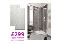 Complete Shower Pack Only £299