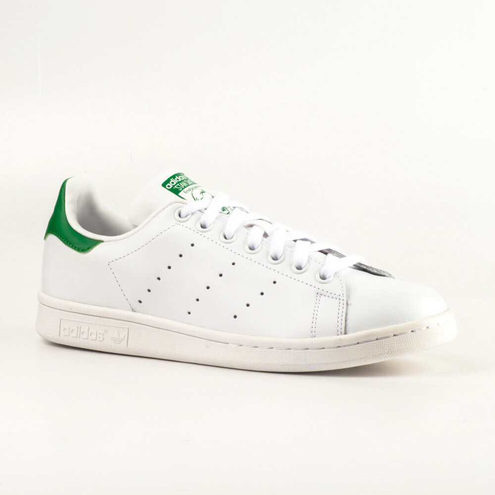 Adidas Stan Smith Originals M20324 Sneakers Turnschuhe Leder Weiß Grün Retro