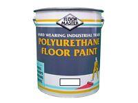 Floor Paint - 20ltr Grey Polyurethane Floor Paint