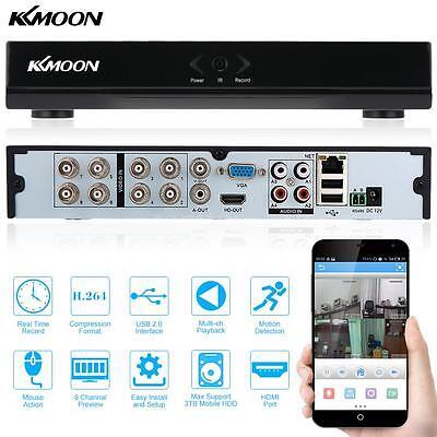 Digital Video Langzeit Recorder H.264 DVR 8CH 960H D1 HDMI Security Monitor P2P