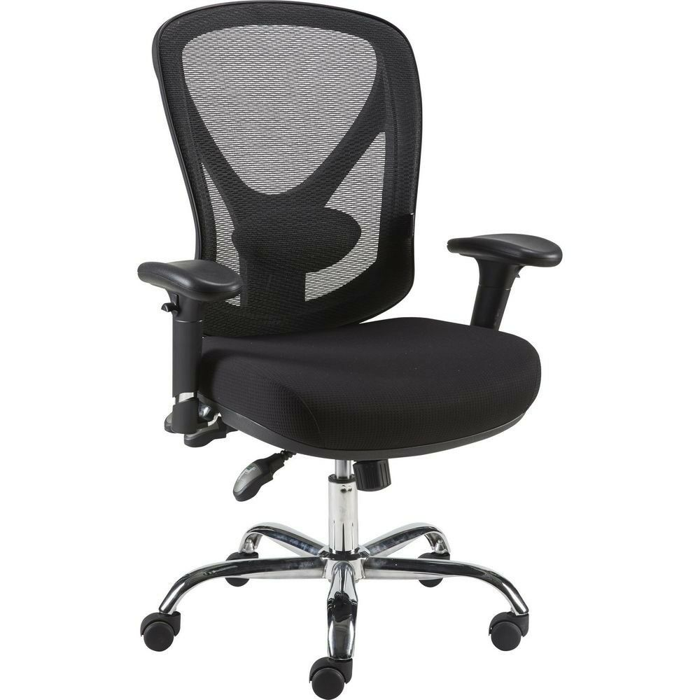Staples Crusader Mesh Ergonomic Office Chair Black