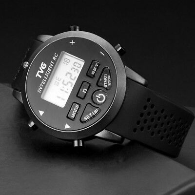 Tvg Led Digital Watches Sports Men Boys Silicone Smart Remote Control Watches