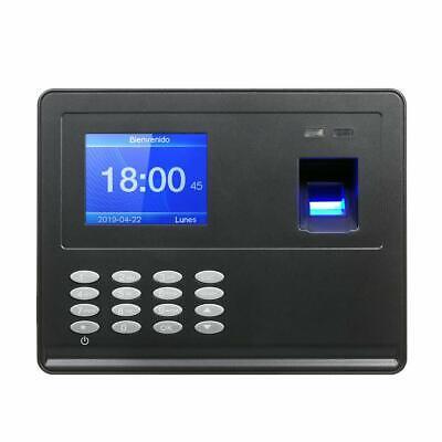 Decdeal Biometric Fingerprint Attendance Machine Tft Lcd Display Usb 2.8